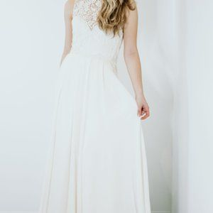 London Sample Gown by Sarah Seven